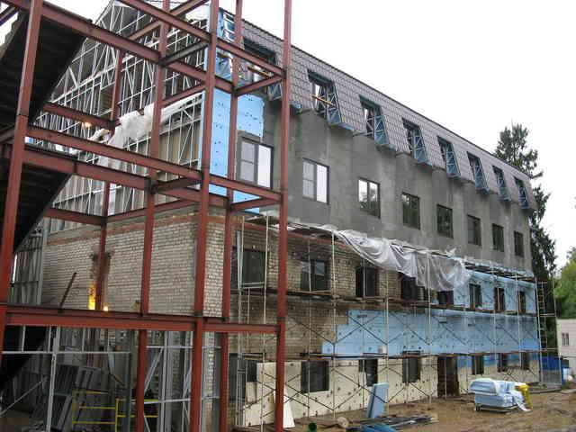 Ремонт и отделка фасадов домов во Владимире